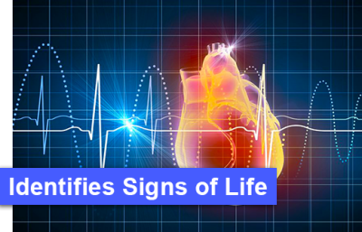 Identifies Signs of Life